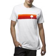 Camiseta Amazônia Listras de Tinta - Branco
