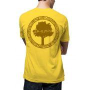 Camiseta Amazônia Logo Oficial - Amarelo