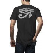Camiseta Amazônia Olho de Hórus - Preto