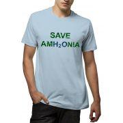 Camiseta Amazônia Save Amh20nia - Azul Claro