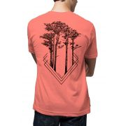 Camiseta Amazônia Sequoias Protegidas - Rosa Claro