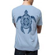 Camiseta Amazônia Tartaruga Maori - Azul Claro
