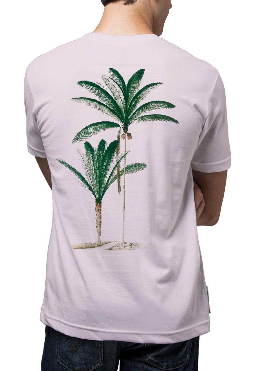 Camiseta Amazônia Açaizeiro - Lilás