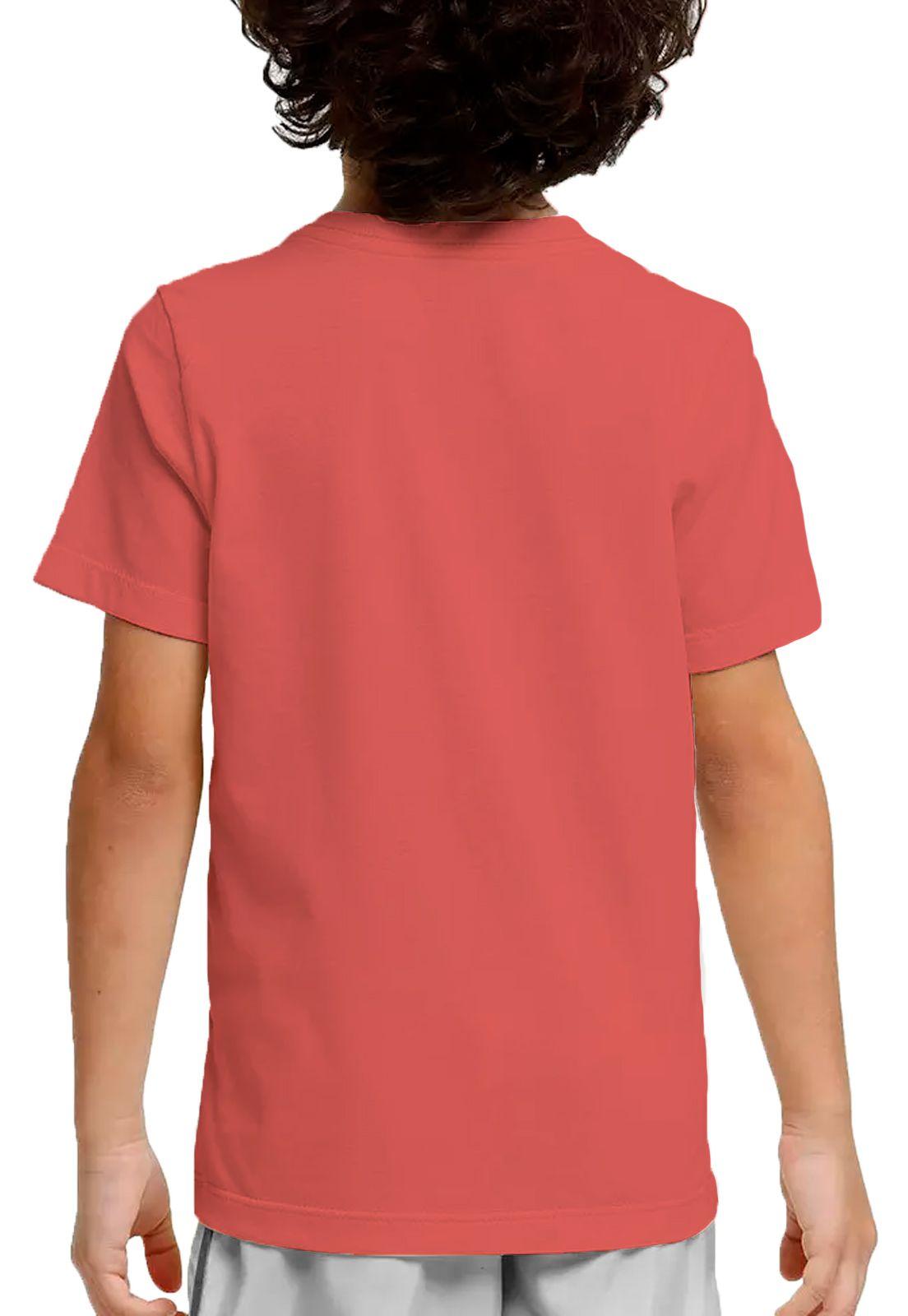 Camiseta Amazônia Adolescente Bob e Peter - Vermelho