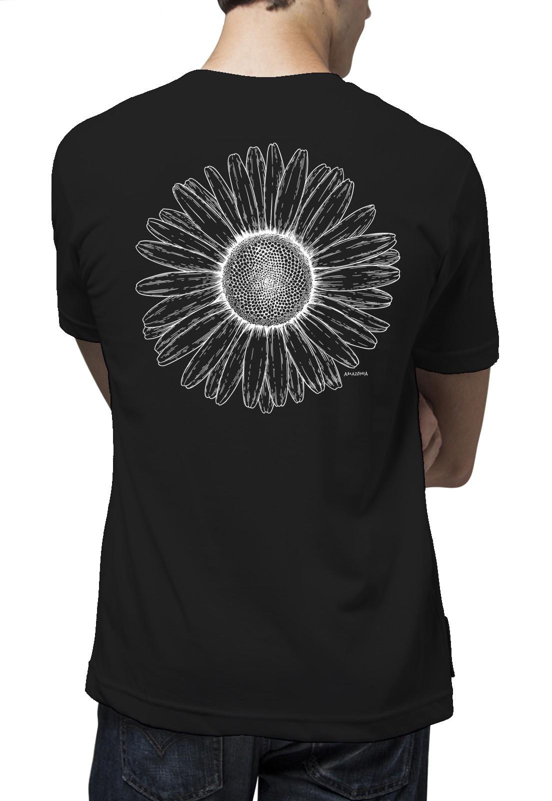 Camiseta Amazônia Bem me Quer - Preto