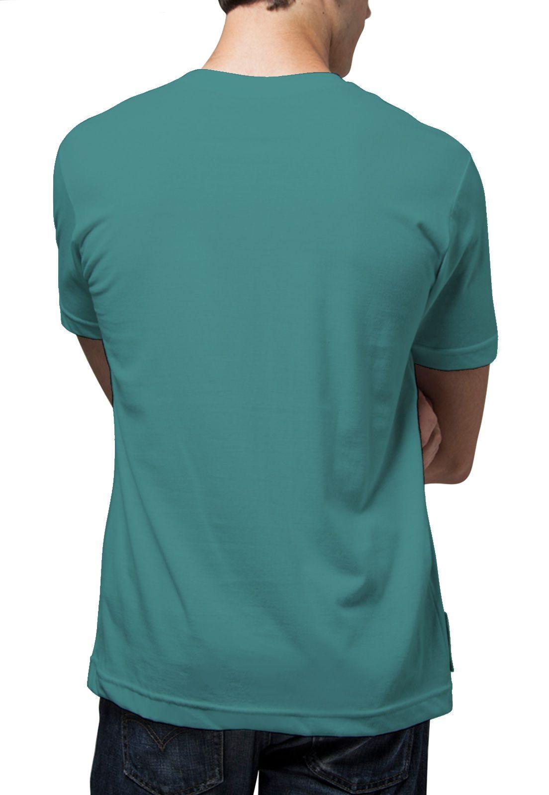 Camiseta Amazônia Bob e Peter - Azul