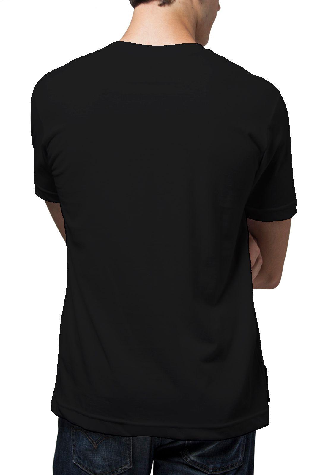 Camiseta Amazônia Cenas Floresta - Preto