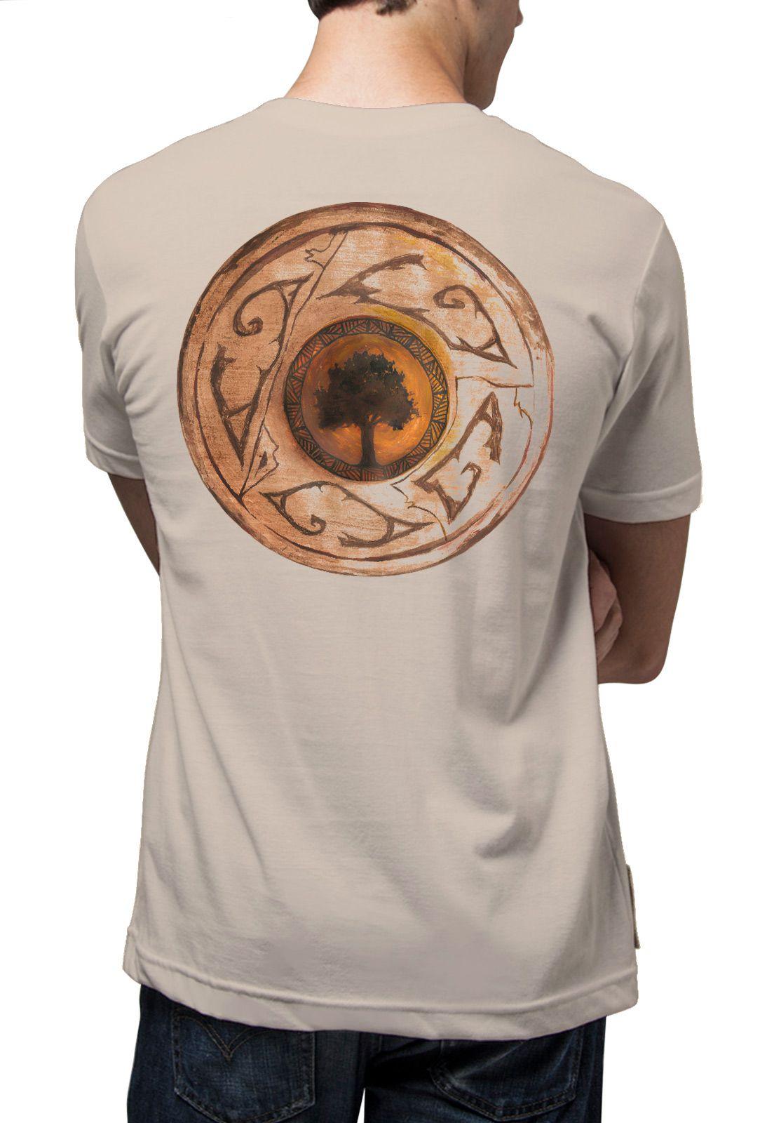 Camiseta Amazônia Cerâmica - Bege