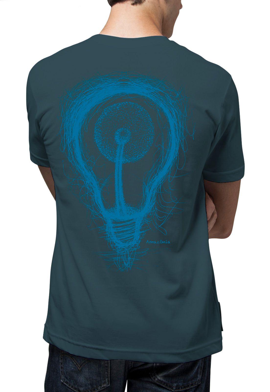 Camiseta Amazônia Dandelion Energy - Azul Escuro