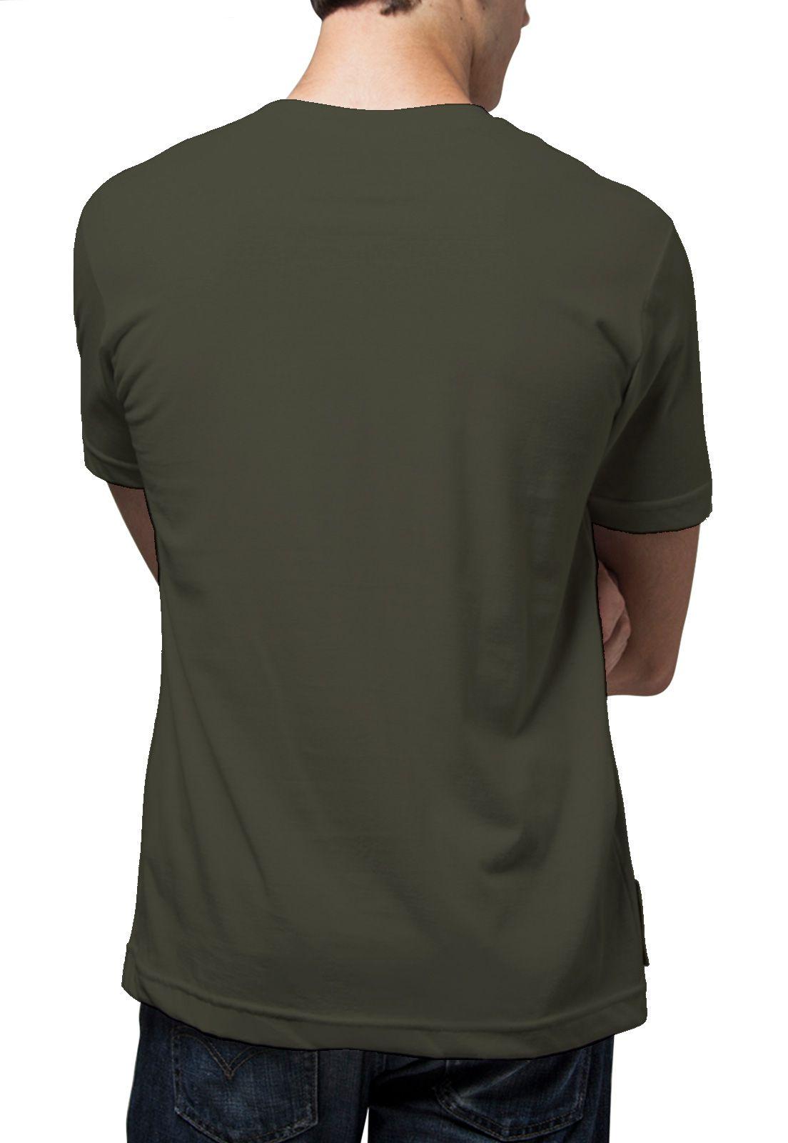 Camiseta Amazônia Flechas A - Verde Escuro