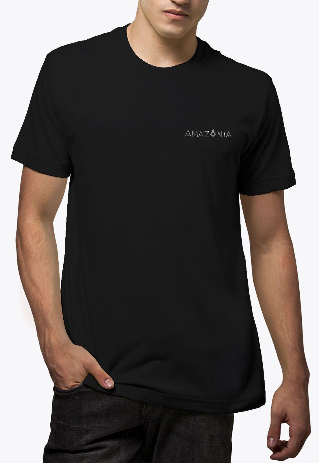 Camiseta Amazônia Flechas - Preto
