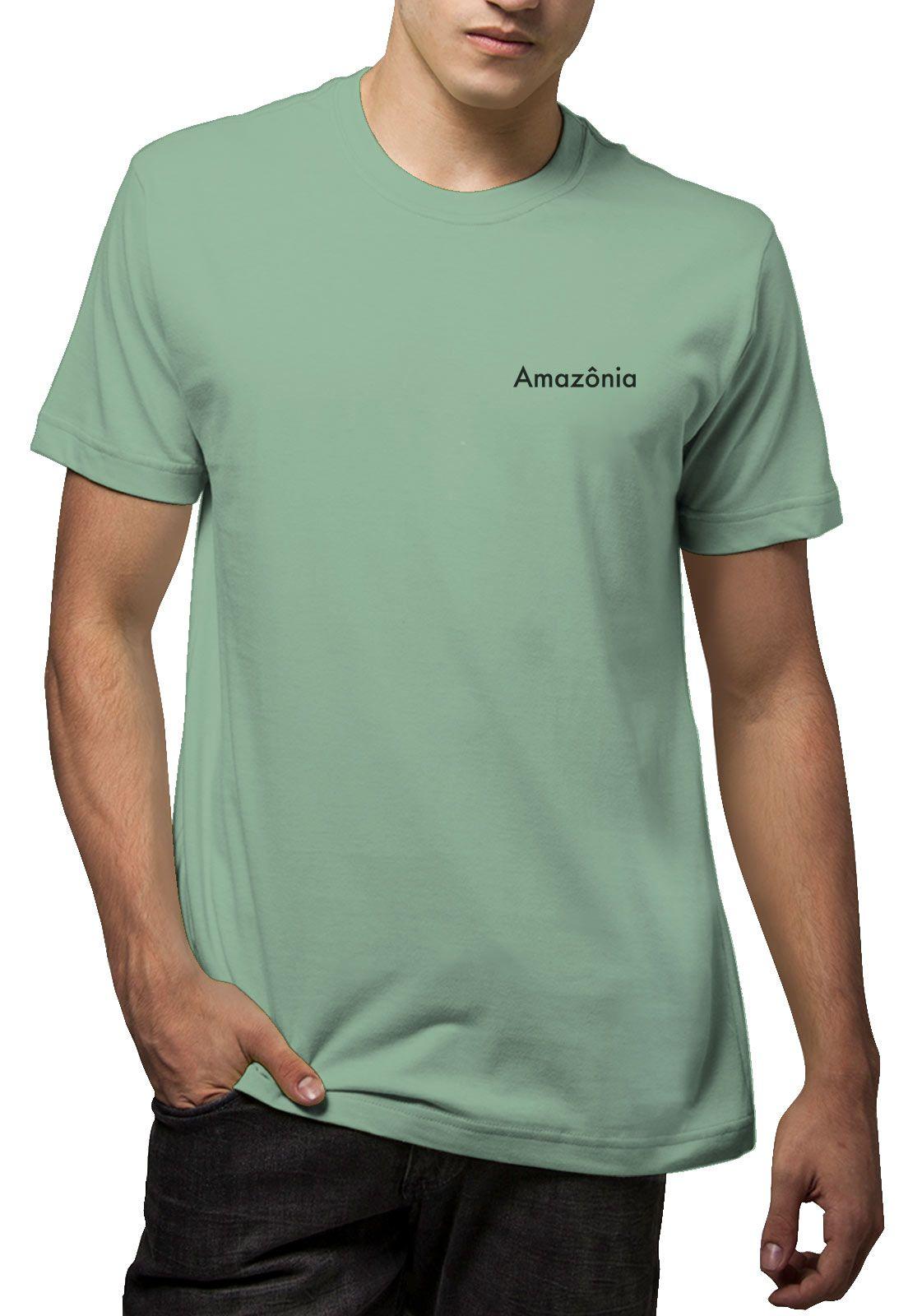 Camiseta Amazônia Flor Amazônia - Verde