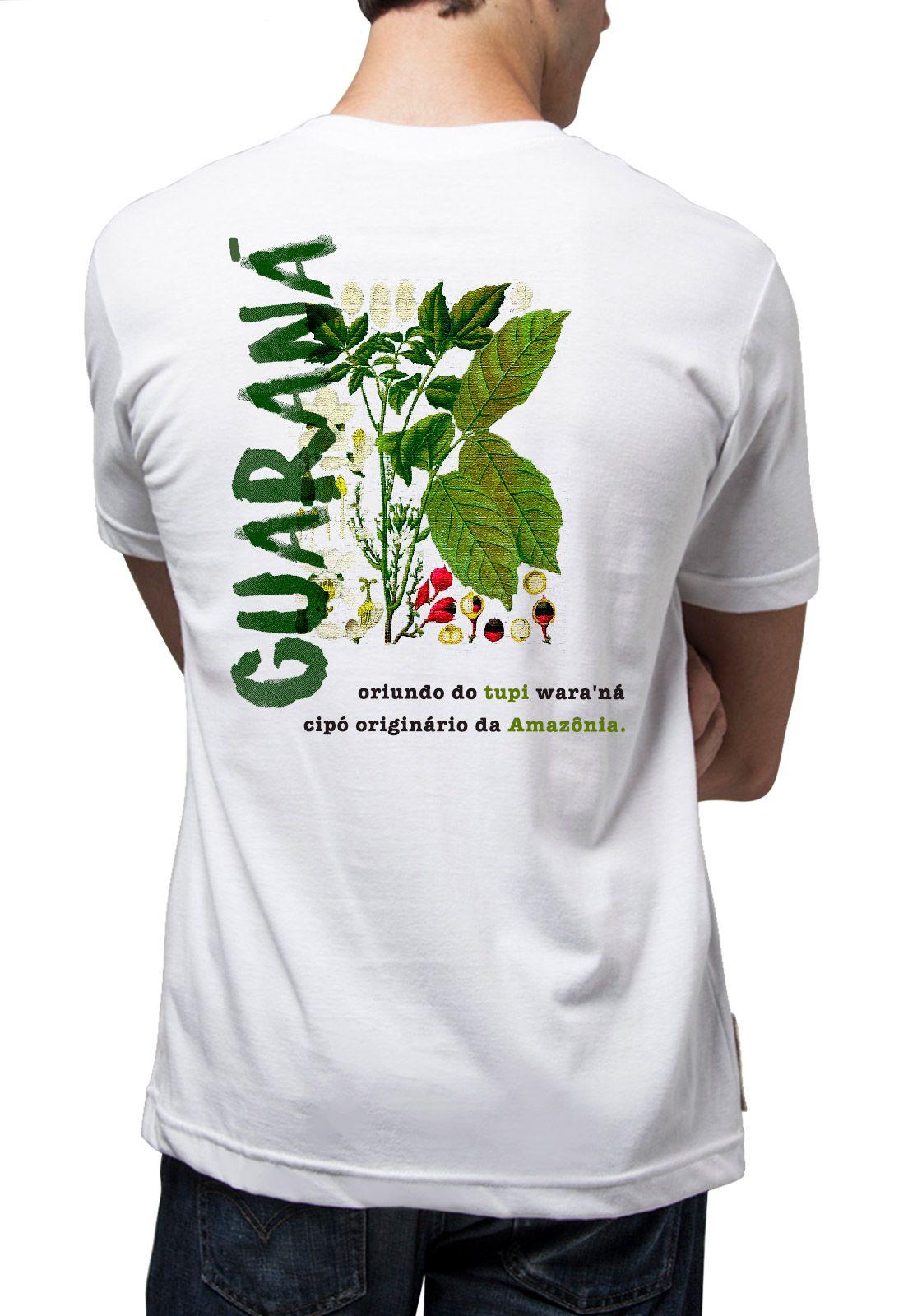 Camiseta Amazônia Guaraná da Amazônia - Branco