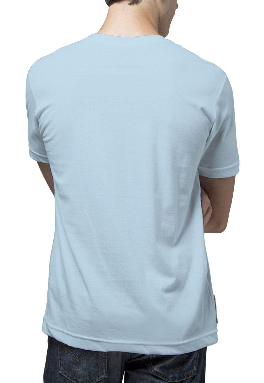 Camiseta Amazônia Jubarte - Azul Claro