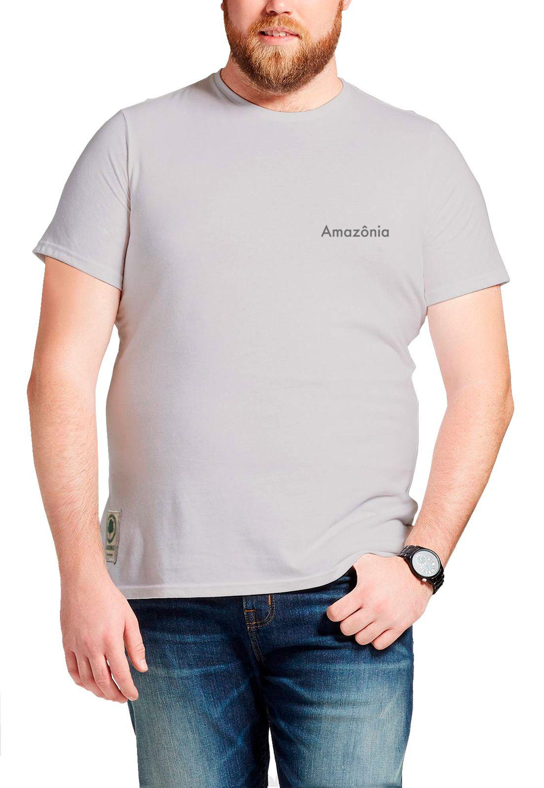 Camiseta Amazônia Lua Cheia - Lilás