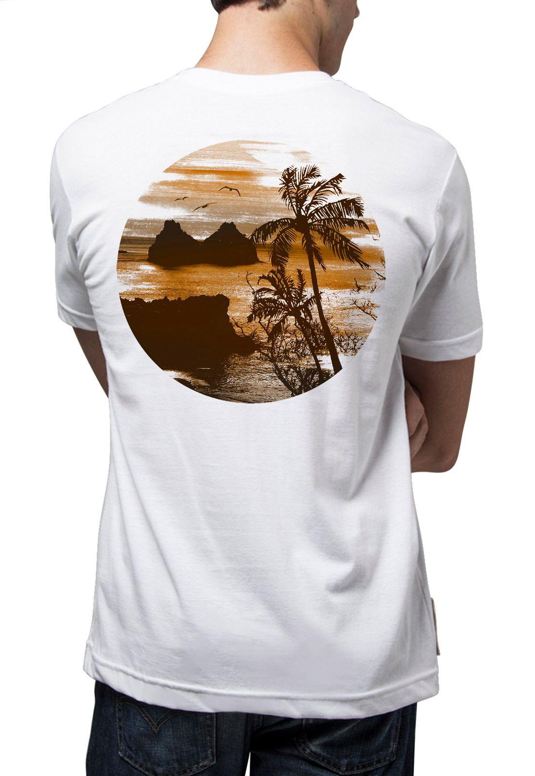 Camiseta Amazônia Noronha - Branco