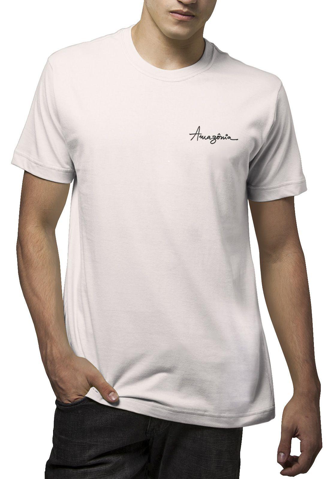 Camiseta Amazônia Noronha - Off White
