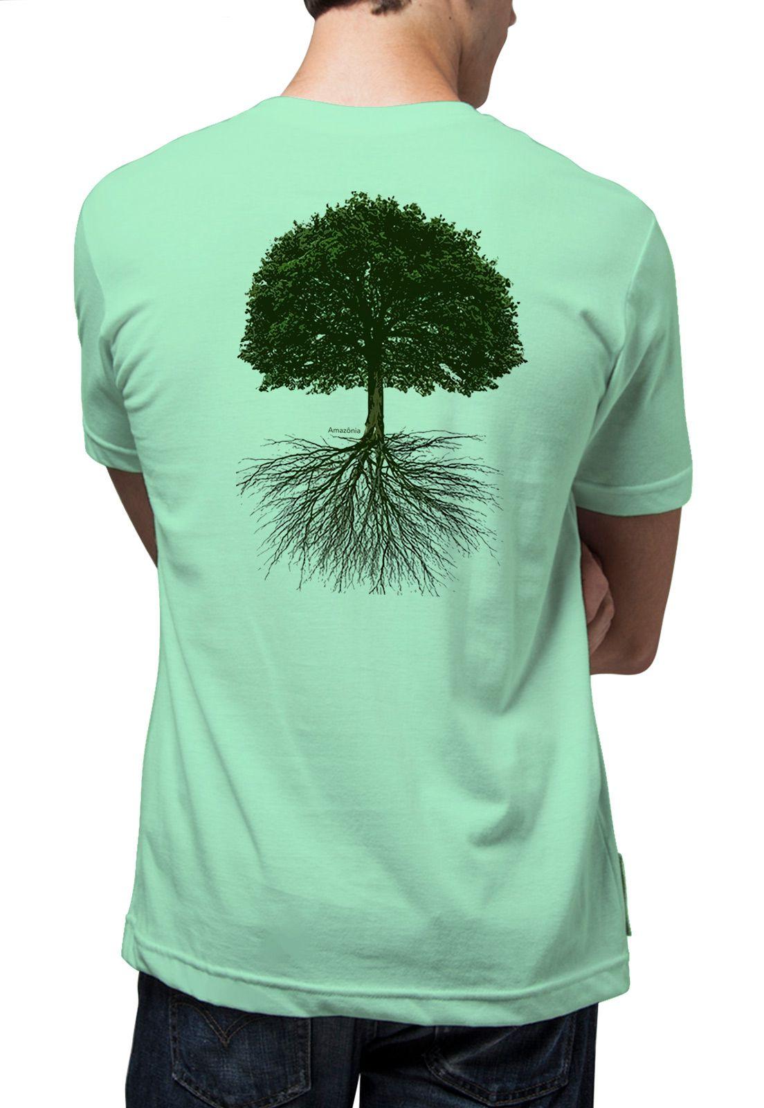 Camiseta Amazônia Sumaúma - Verde