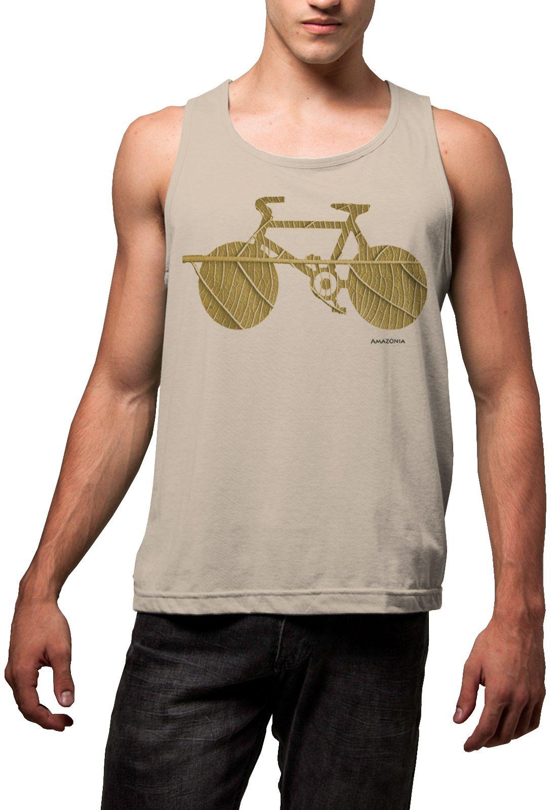 Regata Amazônia Bike Folha - Bege