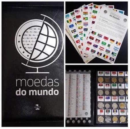 Álbum Moedas do Mundo - Volume1 AMDMv1