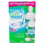 Kit Opti-Free Pure Moist 300ml+120ml+Estojo para Lentes