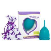 Coletor Menstrual Violeta Cup Tipo A Verde