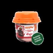DESEJO - Creme Sabor Chocolate Meio Amargo e Morango 160g (Caixa com 12 unidades)