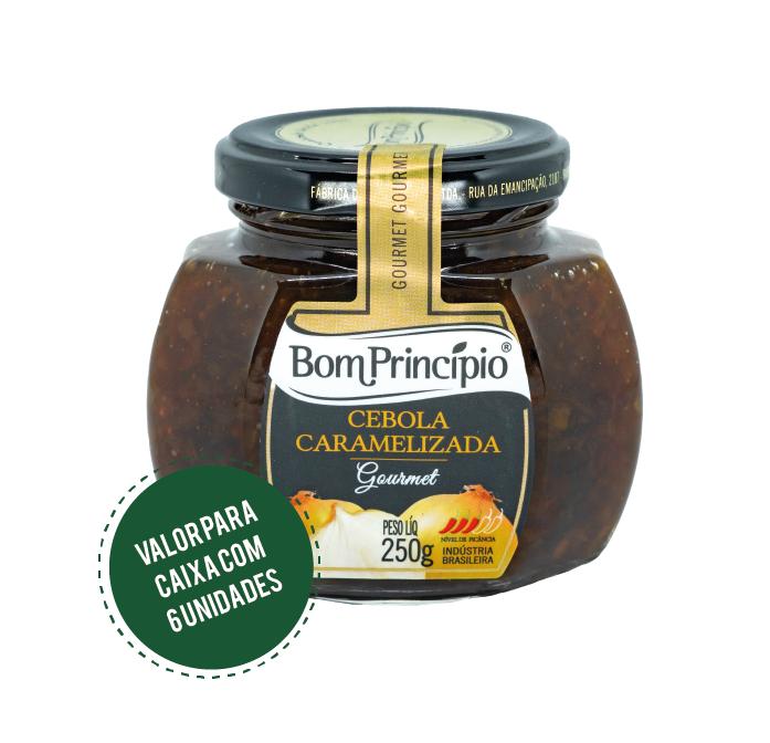 Cebola Caramelizada 250g ( Caixa com 6 unidades )