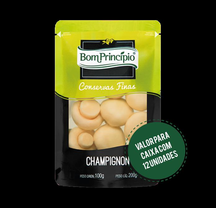 Champignon Inteiro Pouch 100g ( Caixa com 12 unidades )