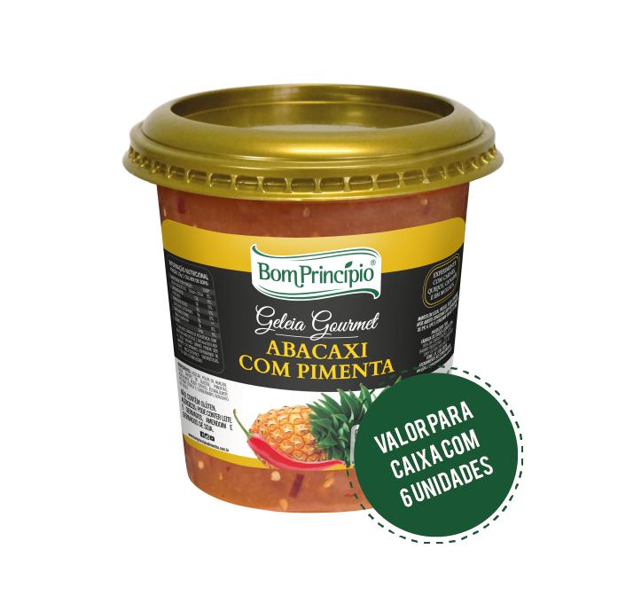 Geleia Abacaxi com Pimenta 1,01kg ( Caixa com 6 unidades )