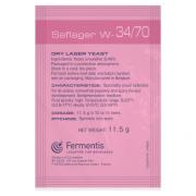 FERMENTO W 34/70 - FERMENTIS (LAGER)