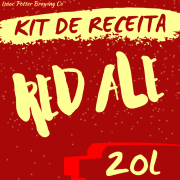 KIT DE RECEITA RED ALE ISAAC POTTER 20 LITROS