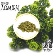 LUPULO ADMIRAL (50g) - 2018 A.A. 10,79%