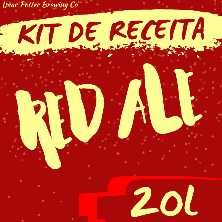 KIT DE RECEITA RED ALE ISAAC POTTER 20 LITROS