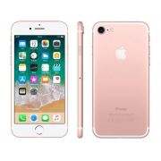 "iPhone 7 Apple 32GB Ouro Rose 4G Tela 4.7"" Retina - Câm. 12MP + Selfie 7MP iOS 11 Proc. Chip A10"