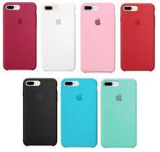 Capa de silicone para iPhone 8 Plus / 7 Plus