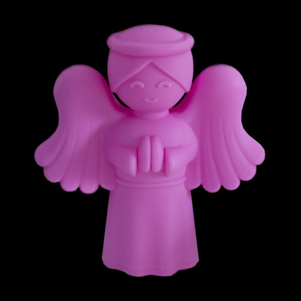 Luminária Anjinho da Guarda Rosa Usare