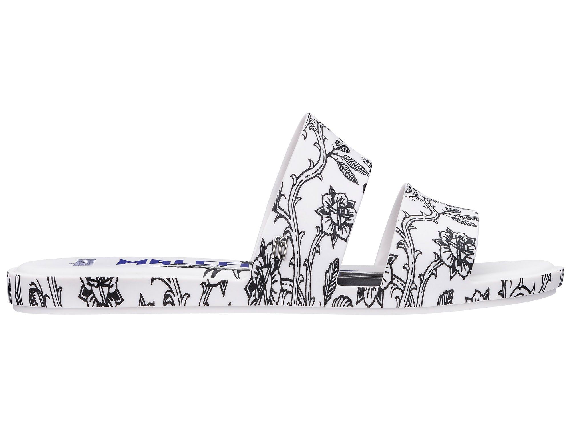 Melissa Color Pop + Malevola Branco Preto