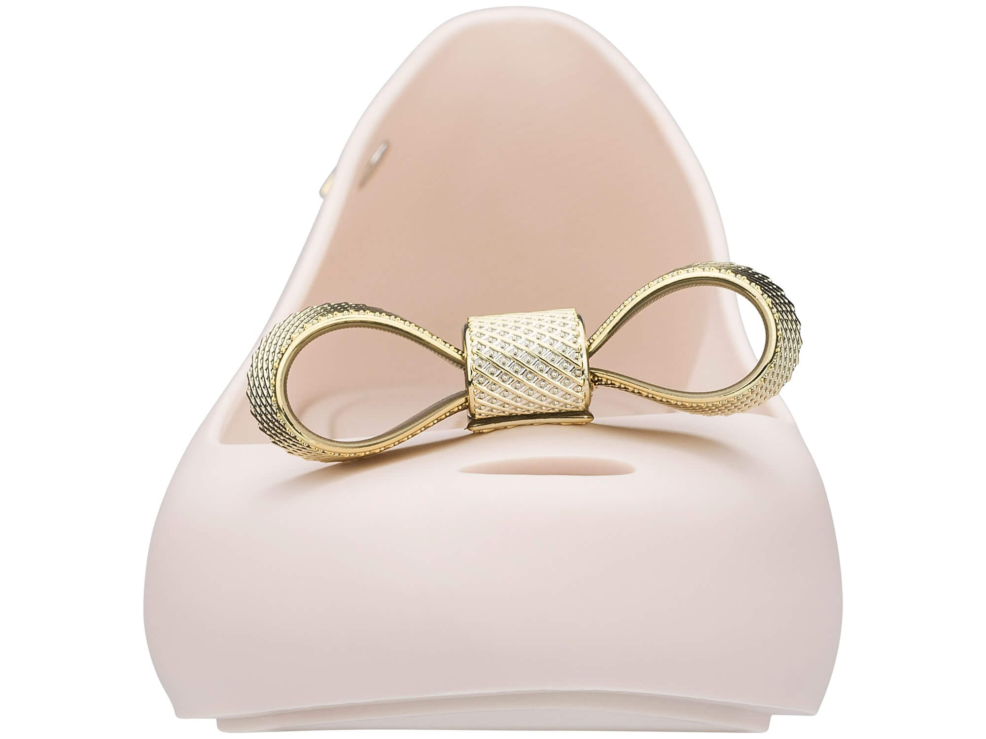 Melissa Ultragirl Bow Chrome Bege Ouro