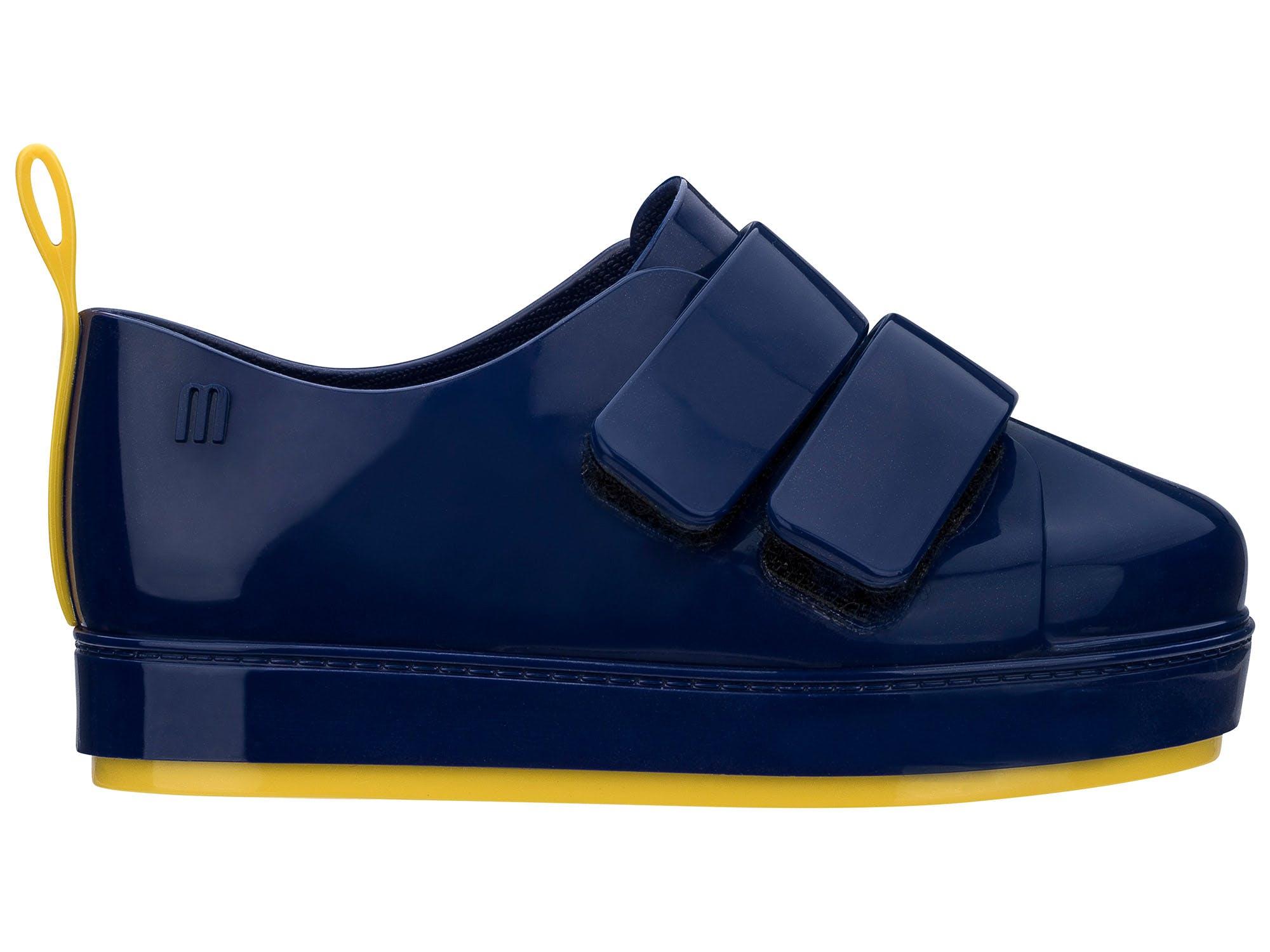 Mini Melissa Go Sneaker Azul Amarelo