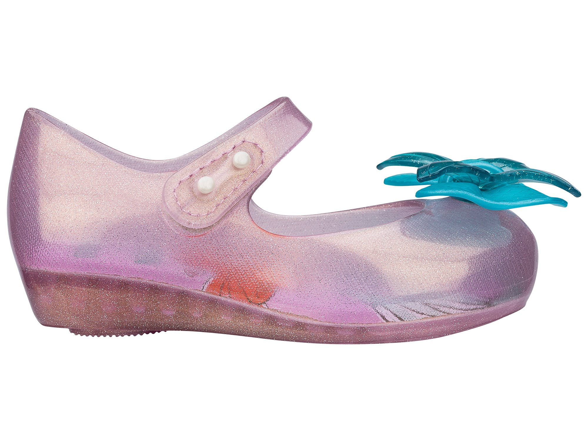 Mini Melissa Ultragirl + Little Mermaid Rosa Azul
