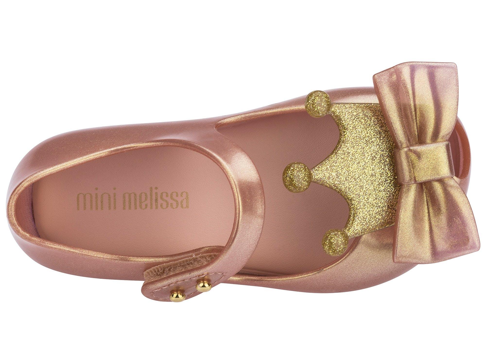 Mini Melissa Ultragirl Princess Rose Doch Metalizado