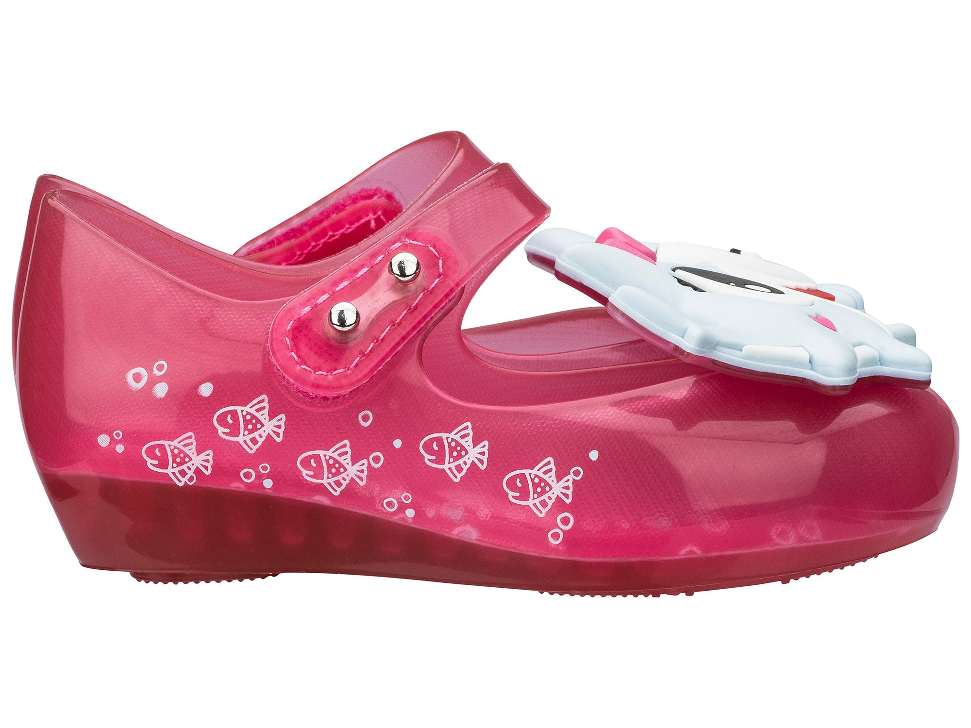 Mini Melissa Ultragirl Shark Rosa Azul