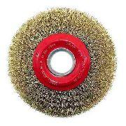 Escova Circular Aco Ondulado 6x3/4 - Worker