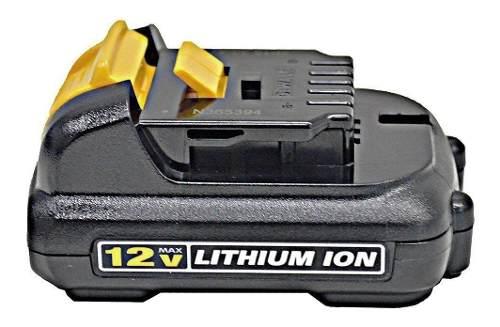Bateria 12v Ion De Litio - Dewalt - 1,3 Ah - Dcb120