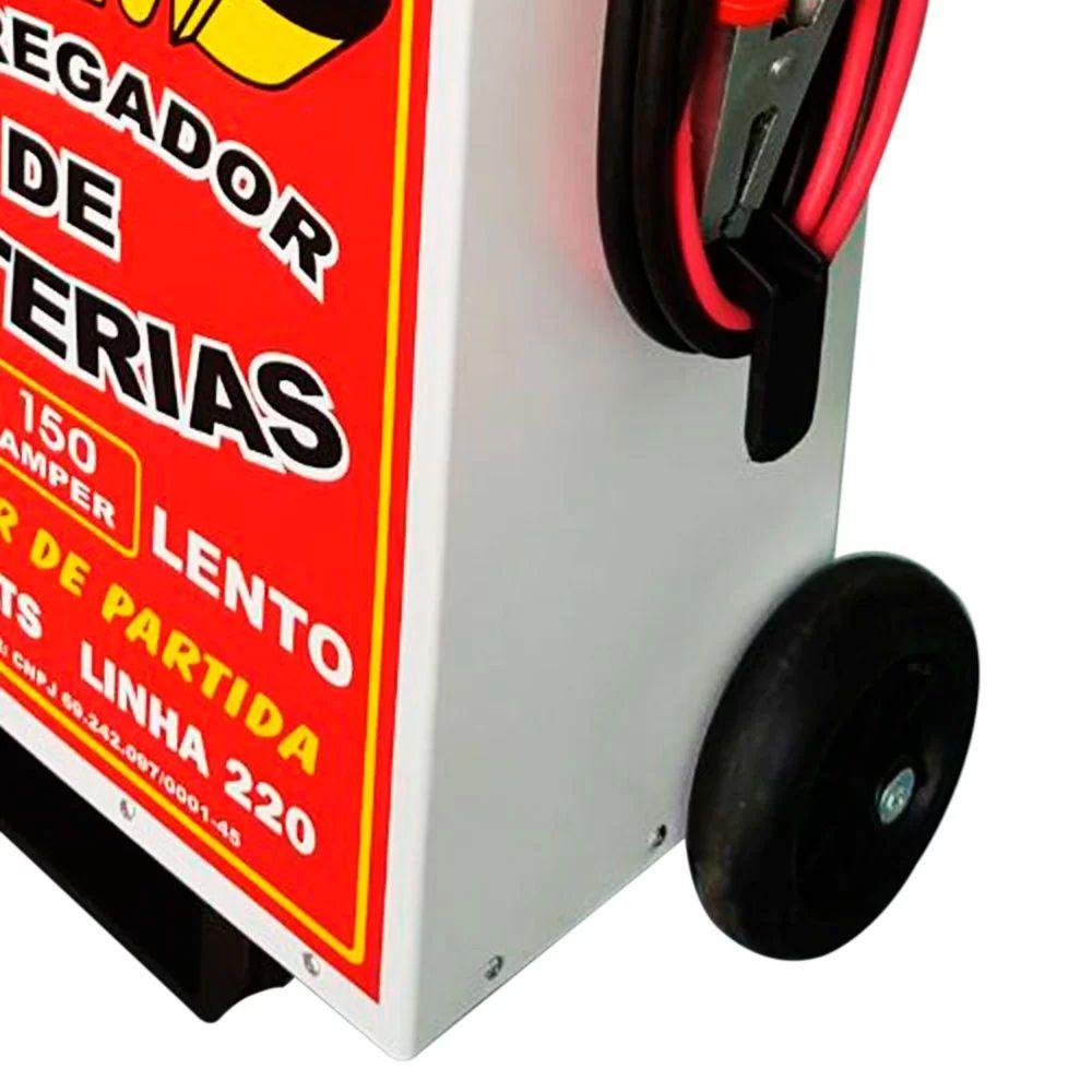 CARREGADOR BATERIAS 150/A 12/24V JTS