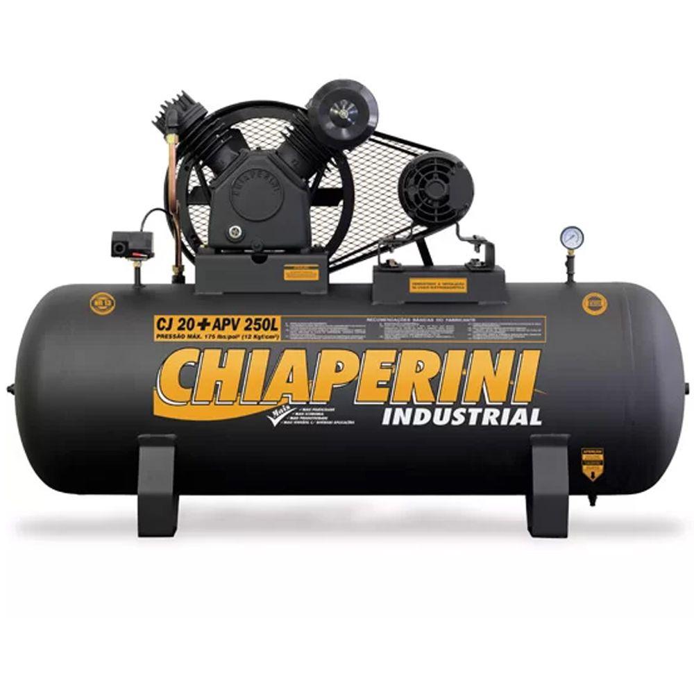 COMPRESSOR 250 L 175LBS MT 220/380V 20APV CHIAPERINI