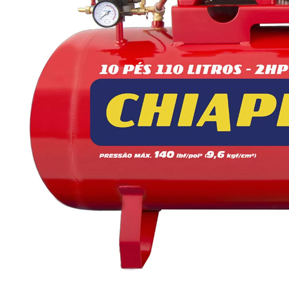 COMPRESSOR AR 10/110 RED RCH 110L C/MM 2HP 110/220V IP CHIAPERINI