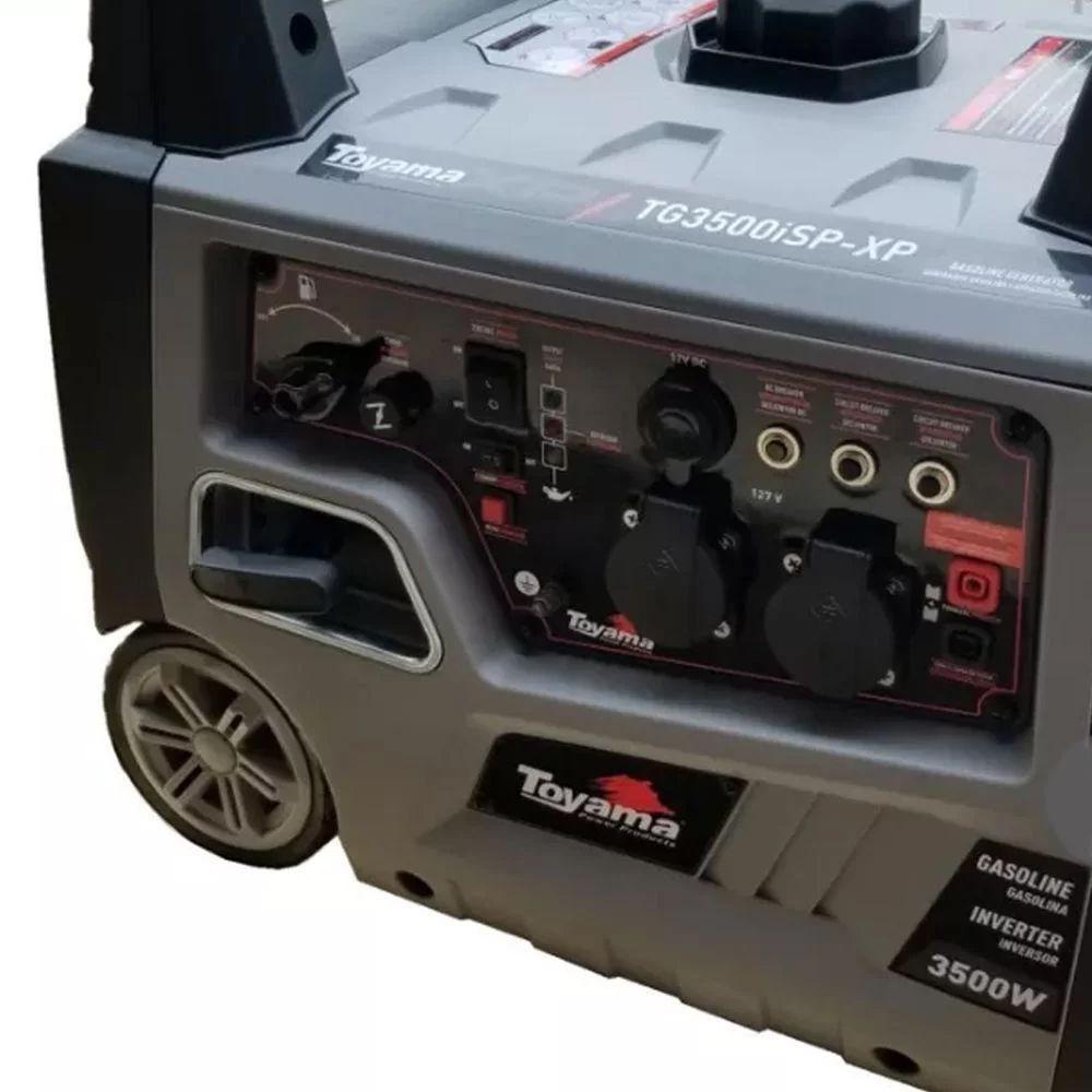 GERADOR DIGITAL MONOFÁSICO A GASOLINA 4 TEMPOS -  TG3500ISPXP TOYAMA