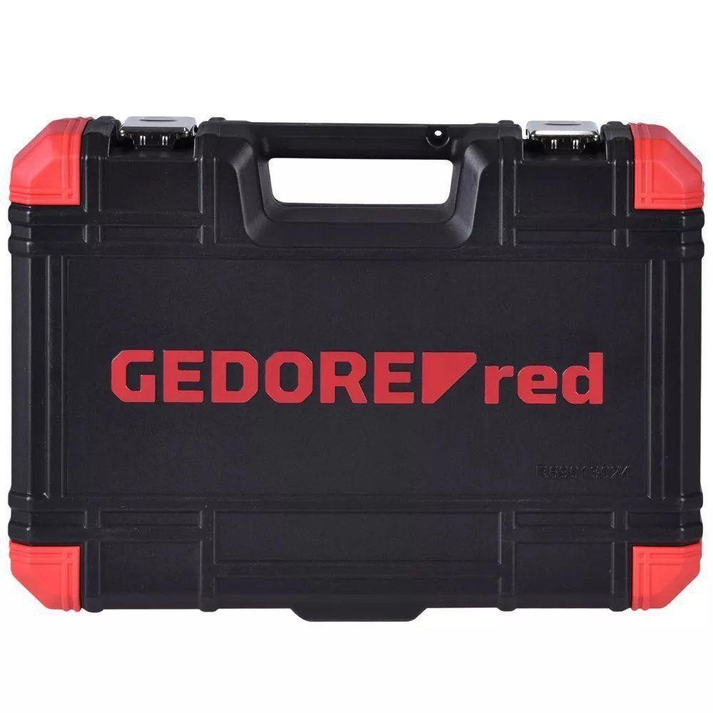 JOGO SOQUETE 1/2 24PCS 10-32MM ESTR. GEDORE RED